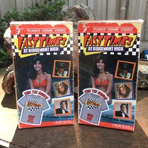 2 boxes of fast times tshirts